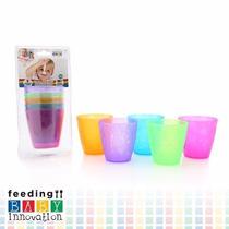 Cinco Coloridos Vasos Apilables Baby Innovation