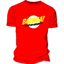 Remera Estampada Ploteada Sublimada The Big Bang Theory