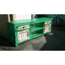 Muebles De Tv - Lcd - Mesa Arrime Ratona Biblioteca - Bar