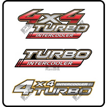 Calco Toyota Hilux 4x4 Turbo Intercooler Calcomania Ploteoya