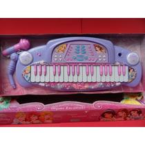 Organo Encantado De Princesas Con Microfono Disney