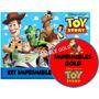 Kit Imprimible Toy Story Diseñá Tarjetas , Cumples Y Mas