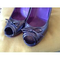 Zapatos De Cuero - Perugia -