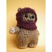 Muñeco En Crochet Amigurumi Ewok Star Wars Pinito.crochet