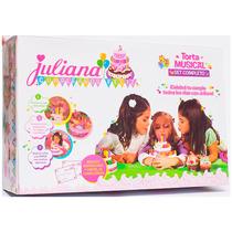 Juliana Torta Grande Cumpleaños Feliz Bilingue Original Tv
