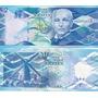 Billete Barbados 2 Dolares Año 2013 Sin Circular