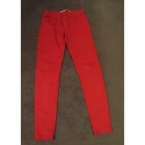 Pantalon Zara Elastizado Tipo Jegging Como Nuevo Talle 38!