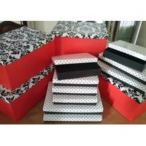 Cajas De Cartón Forradas - Medidas A Pedido