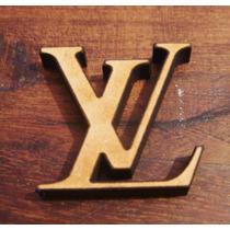 Molde De Caucho De Silicona Logo De Louis Vuitton!
