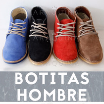 Zapatos Botas Hombre - Calzado Acordonado Vestir - Araquina