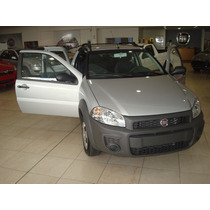 Anticipo $8000-nueva Fiat Strada Working Doble Cabina