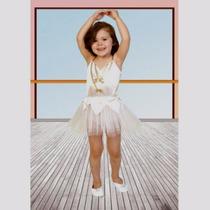 Disfraz De Bailarina Blanca Varios Talles Candela