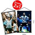 2 Banners Personalizados Portabanner Colgante 50x100 Promo