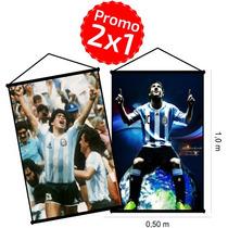 2 Banners Personalizados Cumpleaños Promo 2x1 50x100 Ploteos