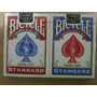 2 Mazos Bicycle (azul Y Rojo) Standard Promo Del Mes! $150