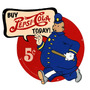 Carteles Antiguos En Chapa Gruesa 20x30cm Pepsi Cola Dr-031