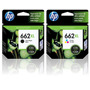 Cartuchos Hp 662xl Combo Negro+color Original Para 2515 3515