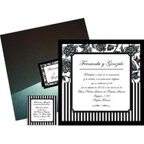 Tarjetas Participaciones Invitaciones Casamiento 15 Años Qui