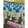 50 Souvenirs Casamiento Rosas Con Pluma Porcelana Fria