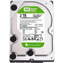 Disco Rigido 2tb Sata Western Digital 2 Tera Wd 2 Tb Green