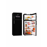 Heladera Kohinoor Con Freezer 416 Litros Negra Kdb 4394/6