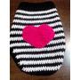 Delicado Abrigo Para Tu Mascota !!!tejido A Mano En Crochet.