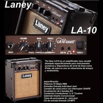 Amplificador De Guitarra Acustica Laney La10 - En Palermo