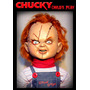 Chucky El Muñeco Diabolico! Juguete Chuky 75cm, Terror, Fx