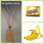Difusor Ambiental Varillas De Bambú Fragancia Banana 125 Ml