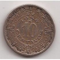 Mexico Moneda De 10 Centavos Año 1936 !!