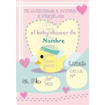 Tarjeta Invitación ,baby Showers, Bautismos, Cumpleaños!