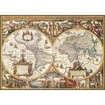 Rompecabezas Ravensburger X 1000 Piezas - Mapamundio Antigüo