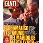 Marta Lynch Uby Sacco Susana Romero Cristi Albero Gente 1985