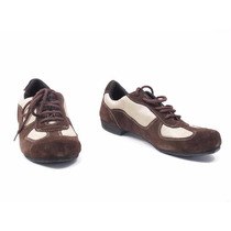 Zapato Tango Hombre Gamuza/tela Red Marrones T/42 (skucc102)
