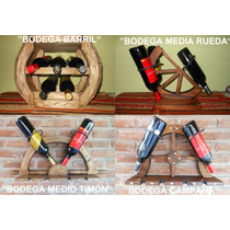 Bodegas De Madera Promo Oferta Día Del Padre! 3 Modelos!