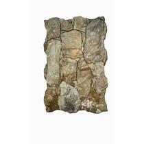 Revestimiento Símil Piedra 34cm X 50cm Ribassos Mix Placa