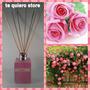 Difusor Ambiental Varillas De Bambú Fragancia Rosas 125 Ml