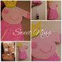 Piñata Peppa! Cumpleaños Y Decoración Infantil! Hermosa!