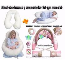 Almohadon Embarazadas,descanso,amamantar+set Gym¡¡¡