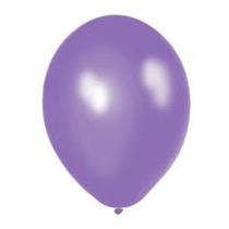 Globos Violeta Perlados 10 Pulgadas En Pack De 25 Unidades