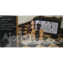 Ajedrez Con Reloj Profesional Bisonte