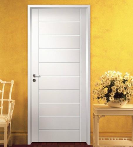Puerta Interior Mdf C/ Insertos Aluminio Marco Madera - $ 4270 en ...
