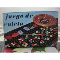 Antiguo Juego De Masa Ruleta El Casino En Tu Casa