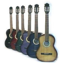 Guitarra Criolla Cielito Modelo N° 4 Color ( Tamaño Niño )
