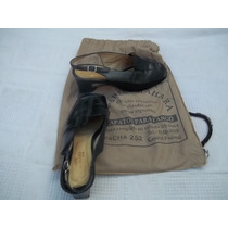 Zapatos Sandalias Mahara Negros 38 La Casa Del Tango