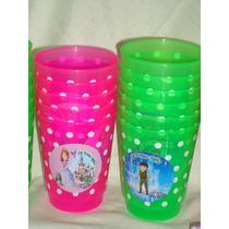 30 Vasos Plasticos Souvenirs Personalizados! Irrompibles!!!