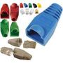 Capuchón Para Cable De Red - Conector Rj45 - Colores Varios