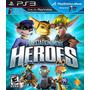 Ps3 Playstation Move Heroes Ps3 Fisico Sellado Original