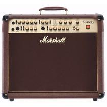 Amplificador Marshall As100d, Para Acústica Y Voces 100w 2x8