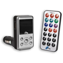 Adaptador De Mp3/mp4 Para Auto C/display + Conrol Remoto